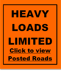 Frenchville Heavy Road Load Limits